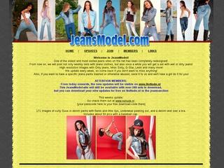 Jeansmodel